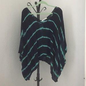 Tops - Julie Billiart Tie Dye Poncho Top